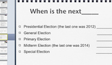 Voting in a U.S. National Election: Powerpoint/Handouts/Notes  Package