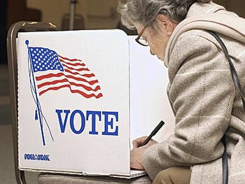 Voting in the US Powerpoint