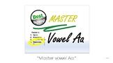Vowel-Aa Uppercase