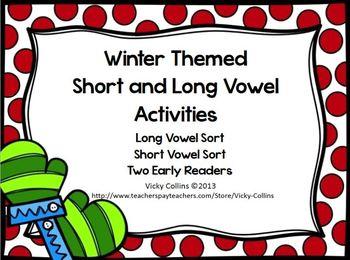 Vowel Activities Winter Theme