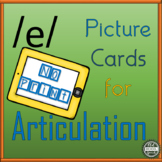 Vowel Articulation Cards for Long A: No Print
