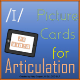 """Vowel Articulation Cards for Short """"i"""": No Print/Digital"""