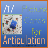 """Vowel Articulation Cards for Speech Therapy: Short """"i"""""""
