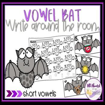 Vowel Bats Short Vowel Hunt