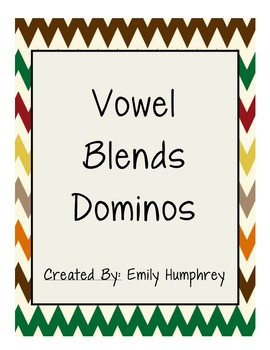 Vowel Blends (Vowel Teams) Dominos