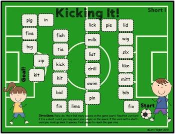 Vowel Board Games