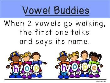 CVC and Silent e Vowel Buddies!