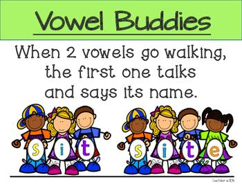 CVC and Silent e Vowel Buddies