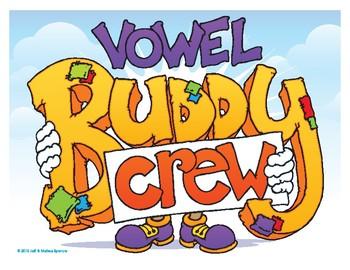 Vowel Buddy Crew Poster