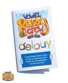 Vowel Buddy Crew Rhyme Book