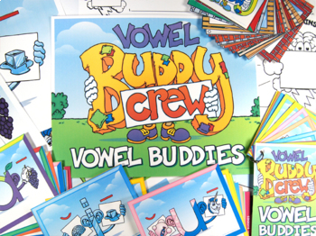 Short and Long Vowel Buddy Combo Pack (Cards and Posters)