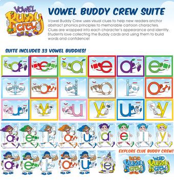 Vowel Buddy Crew Suite