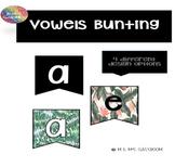 Vowel Bunting