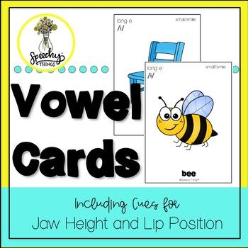 Vowel Cards