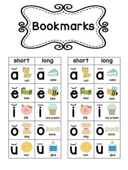 Vowel Chart - Short & Long Vowels