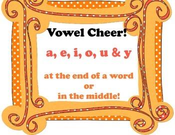 Vowel Cheer Song!