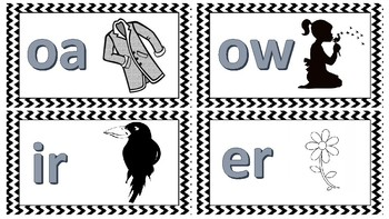Vowel Combination Poster