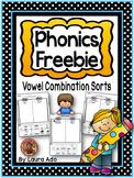 Vowel Combination Sorts Freebie (oo, ow & ea)