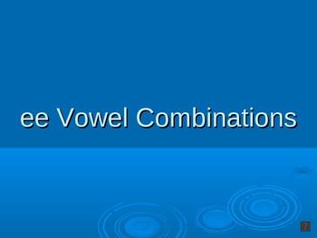 Vowel Combination (ee) PowerPoint