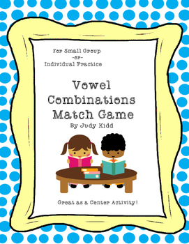 Vowel Combinations Match Game