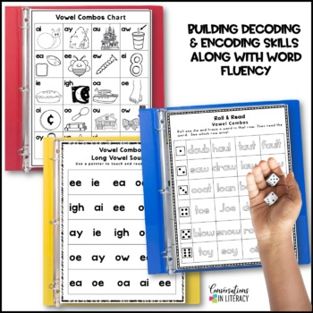 Reading  Intervention Binder: Vowel Combos-Digraphs and Diphthongs