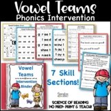 Reading  Intervention Binder: Vowel Combos-Digraphs and Di