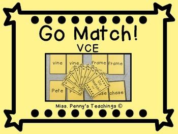 Vowel Consonant E Go Match!