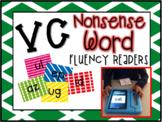 Vowel Consonant Nonsense Word E-Book Fluency Readers