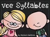 Vowel Consonant Silent E Syllables (vce syllables)