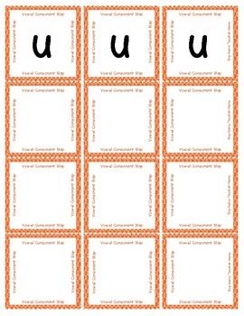 Vowel Consonant Slap Game