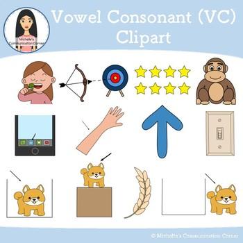 Vowel Consonant (VC) - Apraxia Clipart