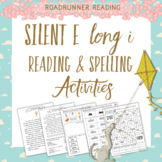 Words with Long i Silent e Reading Passage and Spelling Activities