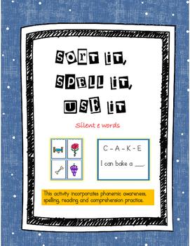 Vowel-Consonant-e Practice Sort it, Spell it, Use it