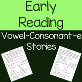 Vowel-Consonant-e (cvce) Decodable Reading Passages and Comprehension Questions