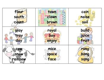 Vowel Controlling R and Consonant Blends Flashcards