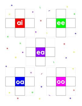 Vowel Cross - a wordplay game