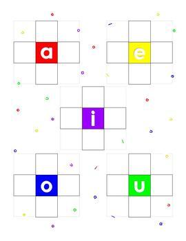 Vowel Cross - a wordplay game