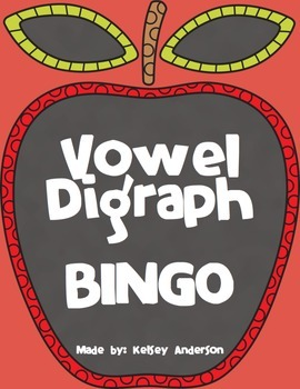 Vowel Digraphs Activity ~ Long Vowel Spellings Activity