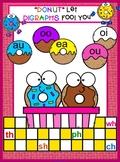 "Vowel Diagraphs - ""Donut Let the Vowels Fool You"" SMARTBOARD"