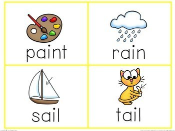 Vowel Teams and Diphthongs Word Work