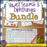 Vowel Teams and Diphthongs Word Work Bundle