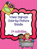 Vowel Digraph Color-by-Picture Bundle! {24 activities}