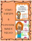 Vowel Digraph & Diphthong Bundle Packet
