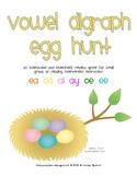 Vowel Digraph Egg Hunt