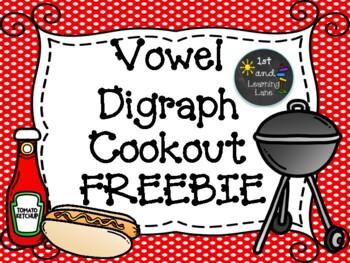Vowel Digraph Game FREEBIE