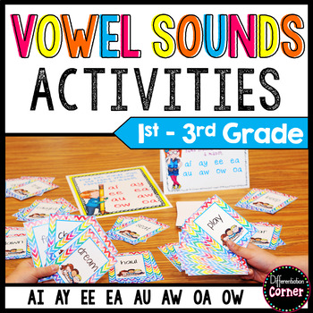 Vowel Pairs Game *Go Fish Style* updated version