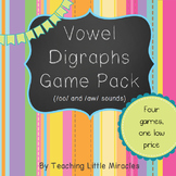 Vowel Digraph Game Pack  - /oo/, /oo/, /aw/, /au/