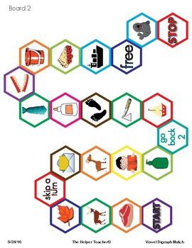 Vowel Digraph Games