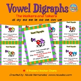 Vowel Teams Vowel Digraphs Simple Posters