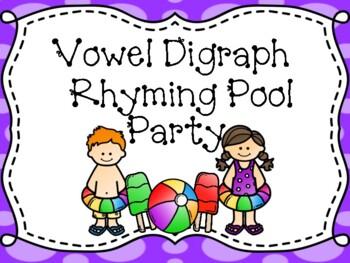 Vowel Digraph Rhyming Pool Party